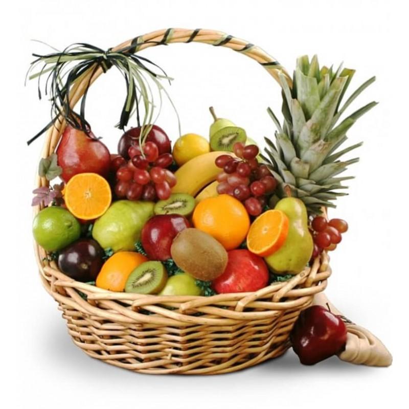 Выходные, картинки корзины с фруктами